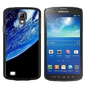 YiPhone /// Prima de resorte delgada de la cubierta del caso de Shell Armor - Azul Planeta Tierra Primer Ver espacio Ambiente - Samsung Galaxy S4 Active i9295