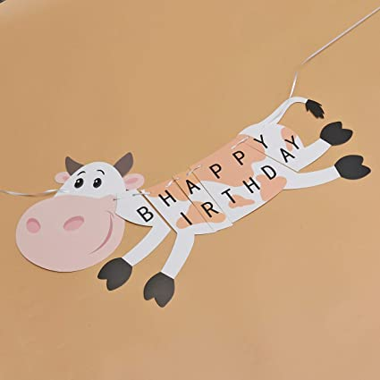 Amazon.es: Amosfun Una Pancarta, Feliz cumpleaños, Bonita ...