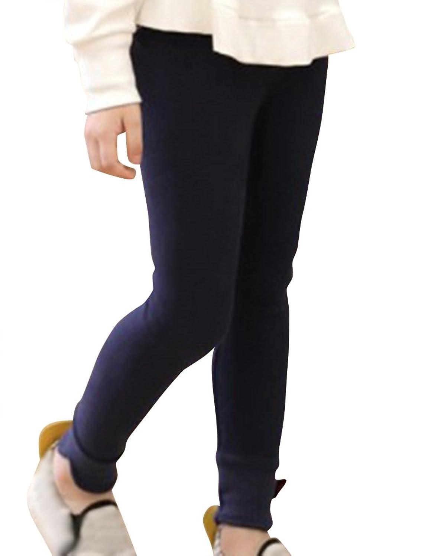 Niños Pantalones Moda Calida Polainas Caliente Grueso Legging Pantalone