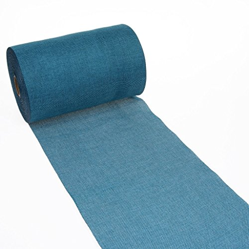 Shabby Chic table runner - Linen look table runner - col.20 - turquoise - 8 by 72, 90, 96, 108. - inch - 69-200-5-20 -