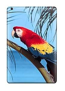 Cute Tpu Parrot Beach Case Cover For Ipad Mini