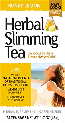 (21st Century Slimming Tea, Honey Lemon, 24 count)