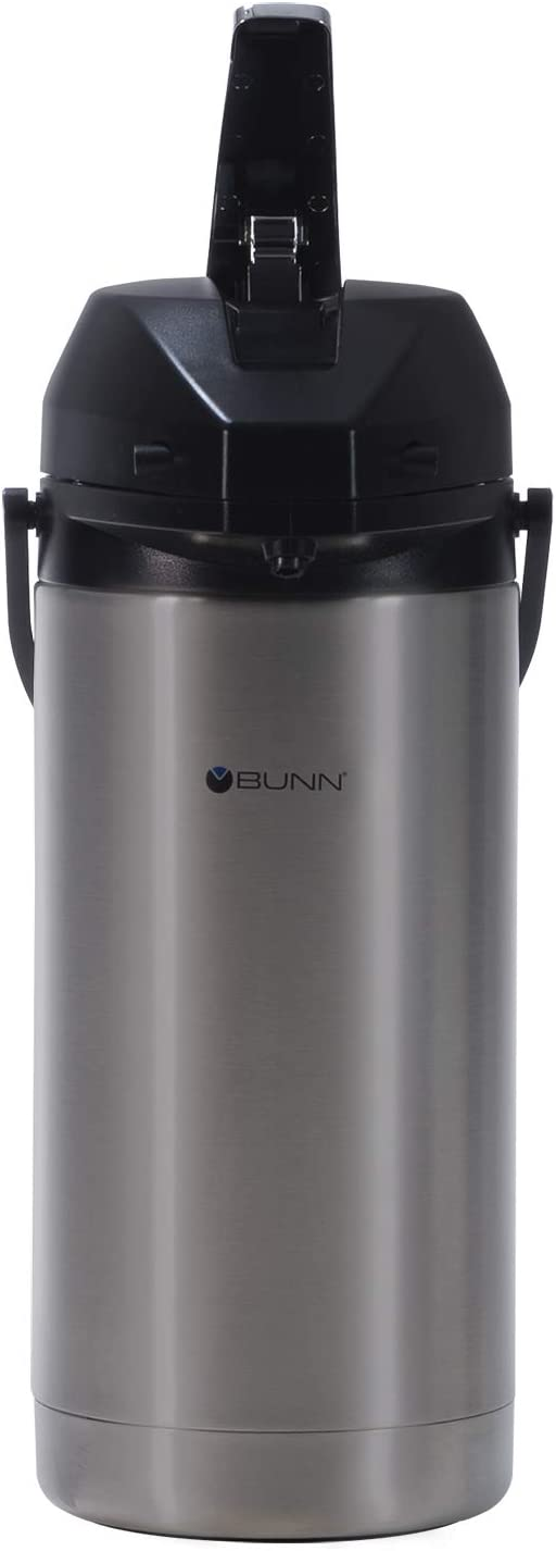 BUNN 36725.0000 3.8-Liter Lever-Action Airpot, Stainless Steel 51hOqgFyedL