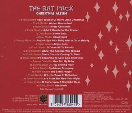 The Rat Pack Christmas Album: Amazon.co.uk: Music