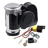 SoundOriginal 12Volt Loud Car Air Horn Big Truck Horn 125db with Automotive Relay