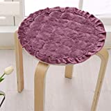 MEIZOKEN Drop Shipping Round Seat Cushion For Chair Korean Style Sitting Pad 30 cm Anti slip Flannel Stools Mat Cushion