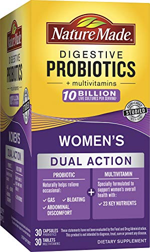 Nature Made Digestive Probiotic + Women's Multi, 60 Count