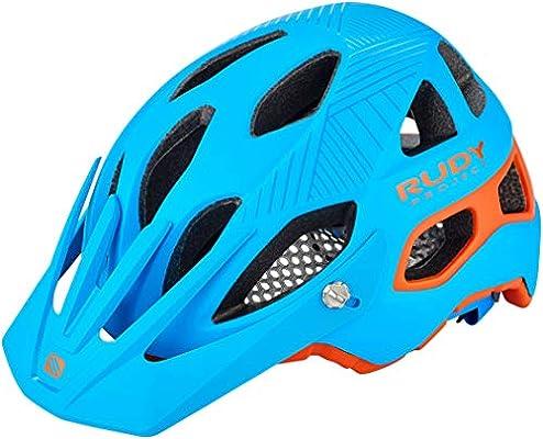 Rudy Project Protera - Casco de Bicicleta - Azul/Turquesa Contorno ...