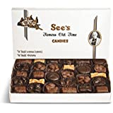 See's シーズ チョコレート 1ポンドボックス 445g 1箱 (ナッツ アンド チュウ)[並行輸入品]