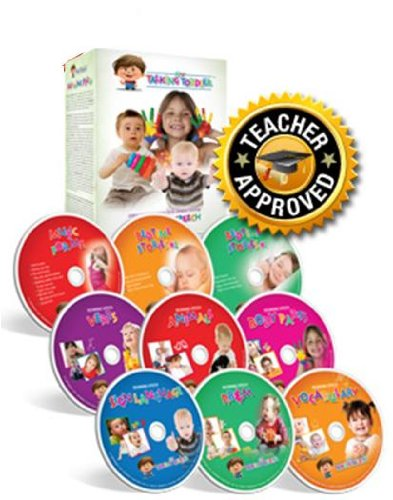 Complete Toddler System - My Talking Toddler Early Communication System Complete 9 DVD Set 2012