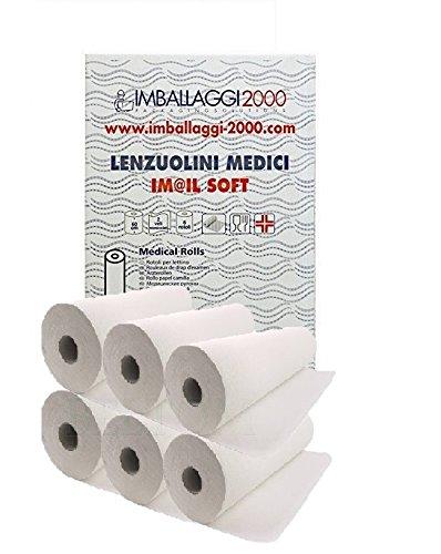 Rotolo Per Lettino Da Massaggio.Imballaggi 2000 Rotoli Carta Lettino Massaggio Medico O