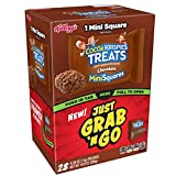 Kellogg's Cocoa Krispies Treats, Chocolate Mini Squares, Grab and Go, 0.39 oz (Pack of 28)