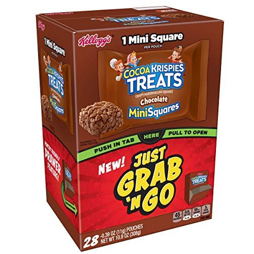 pies Treats, ChocolateMini Squares, Grab and Go, 0.39 oz (Pack of 28) ()