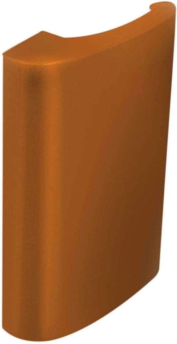 Alu Balkont/ürgriff Balkongriff Balkont/ür Ziehgriff de Luxe Farbe:Titan
