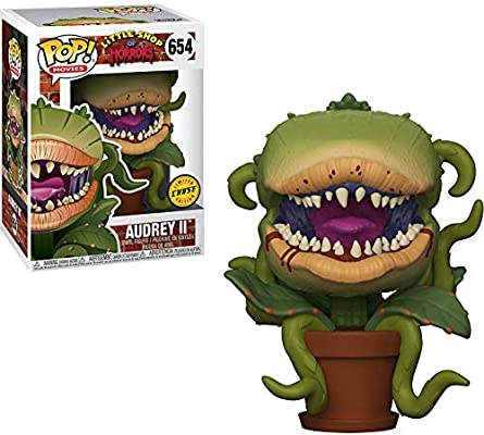 f9c0159224d Funko Audrey II (Chase Edition)  Little Shop of Horrors x POP! Movies Vinyl  Figure + 1 Classic Horror   Sci-fi Movies Trading Card Bundle   654   33090