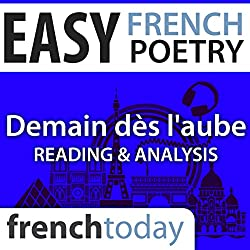 Demain dès l'aube (Easy French Poetry)
