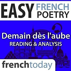 Demain dès l'aube (Easy French Poetry) Audiobook