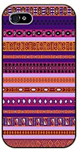 iPhone 4 / 4s Aztec Pattern - black plastic case / Art, hipster, tribal