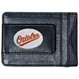 MLB Baltimore Orioles Leather Cash and Card Holder