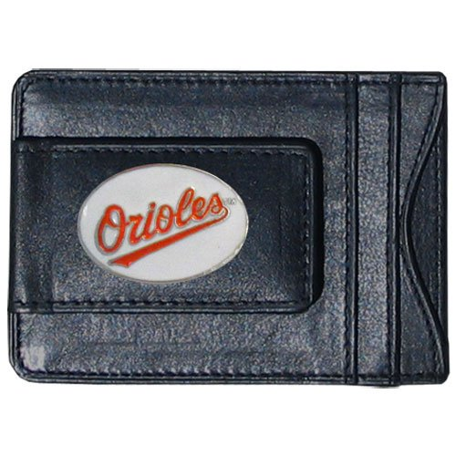 Siskiyou MLB Baltimore Orioles Leather Cash and Card Holder