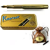 Kaweco Sport Fountain Pen Brass with golden Nib: EF