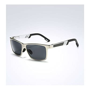 5bc6e06802 Image Unavailable. Image not available for. Color  Men s Aluminium  Polarized Colored Sunglasses Driving Outdoor Fishing Eye ...