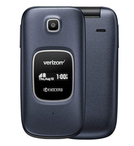 (Kyocera Cadence S2720 (Verizon) (Blue) (Renewed))