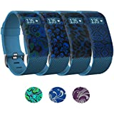 Band Cover,Merlion Sleeve Protector/Protective Cases for Fitbit Charge/Fitbit Charge HR,Perfect Protecting Your Fitbit Charge/Fitbit Charge HR From Impacts,Drops and Scratches-12 Month Warranty