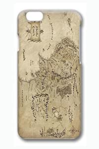 2015 popular iPhone 6 Case, 6 Case - Best Water Resistant Hard Case Cover for iPhone 6 Middle Earth Map The Lord Of The Rings Protective 3D Print Pattern Case Bumper for iPhone 6 4.7 Inches