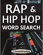 Rap and Hip Hop Word Search: Music Activity Puzzle Book Volume 1