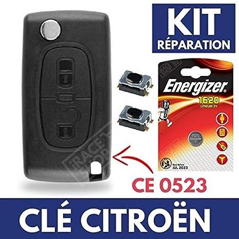 Carcasa de mando a distancia Plip llave Citroen C4 Picasso ...