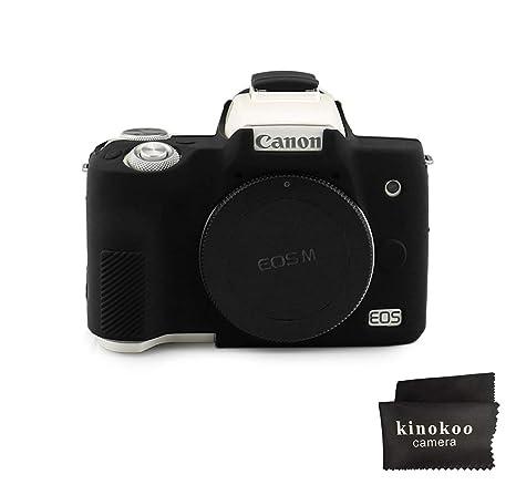Kinokoo - Carcasa de Silicona para cámara Canon EOS M50: Amazon.es ...