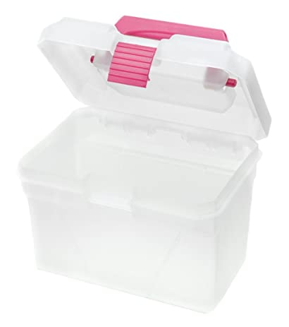 Good Creative Options 1311 83 Molded Storage Crafters Mini Toolbox With Secure  Pro Latch Locking
