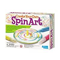 4M Crea tu propio Spin Art Kit