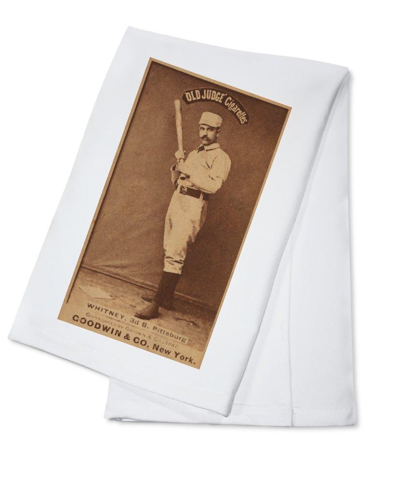 ピッツバーグパイレーツ – アートWhitney – 野球カード Cotton Towel LANT-22972-TL B0184BV6V8  Cotton Towel
