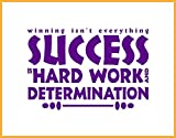 Winning isn't Everything, SUCCESS is Hard Work and Determination, Yoga, Persistence, Change Failure., Achievement, Motivation, Exercise, Positive Affirmation, Consistency, Winning, isn't Everything, Success, Hard Work, Determination, Fitness, Fitness...