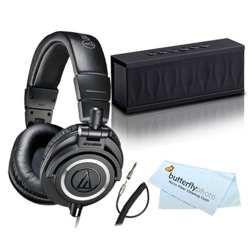 Audio-Technica ATH-M50x Studio Monitor Headphones and Photiv