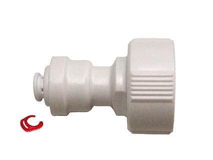 Kühlschrank Wasseranschluss Set : Kühlschrank wasseranschluss luxus universal metall anschluss für