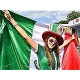 Mexico Flag Bandera De Mexico Mexican Flag 3x5 Body Flag Cape Strong Quality Polyester!!