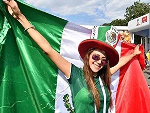 Mexico Flag Bandera De Mexico Mexican Flag 3x5 Body Flag Cape Strong Quality Polyester!! -