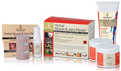 Jadience Severe Pain Relief Kit Penetrates Deep for Muscle Pull Recovery, Joint Support & Sciatic Nerve| Dit Da Jow Topical Analgesic for Back, Neck, Shoulders, Hips, Knees, Ankles, Elbows & Wrists by Jadience Herbal Formulas