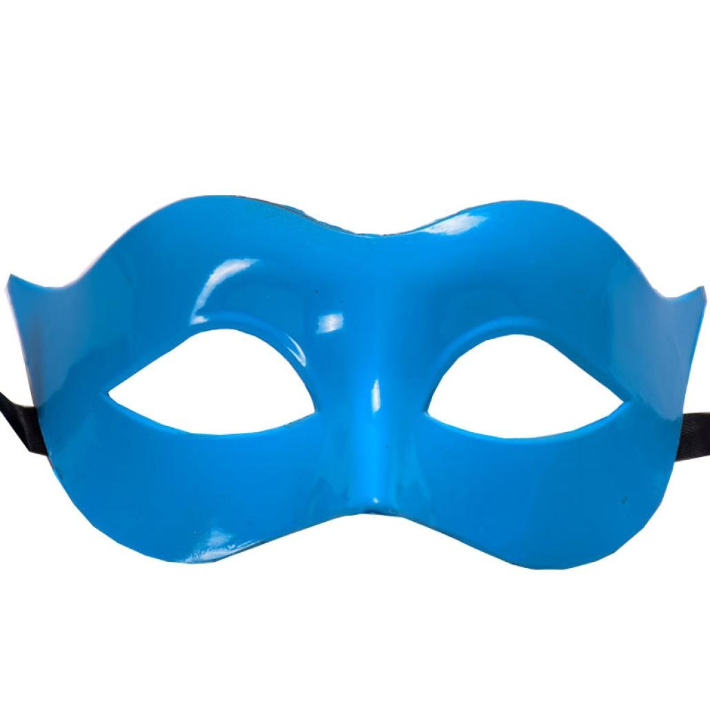 YJYdada Halloween Masquerade Mask Prom Party Mask Accessories (Black) at Amazon Mens Clothing store: