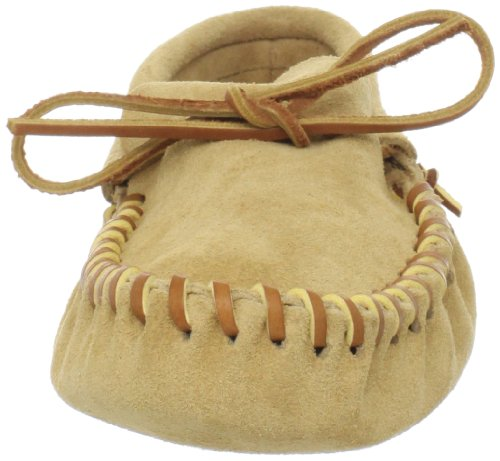 Softsole Minnetonka Leather Tan Laced Men's Moccasin wWq8q0Uf