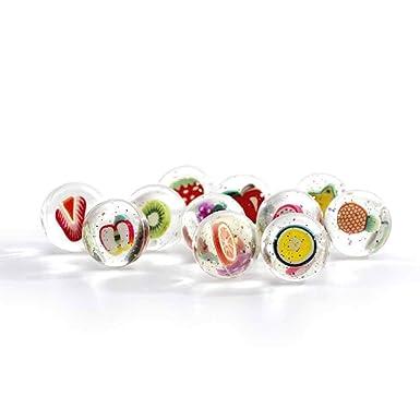 Yuejiancaos Bouncy Balls, Bouncy Ball Transparente Transparente ...