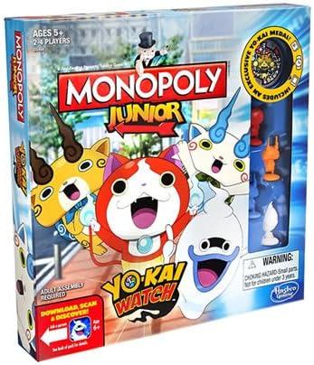 Monopoly Junior Yo-Kai Watch Edition Toy - Juego de Mesa: Yokai: Amazon.es: Juguetes y juegos