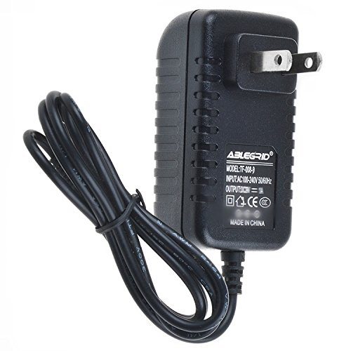 ABLEGRID AC/DC Adapter for Vtech Safe & Sound VM321 VM321BU VM321PU Video Baby Monitor and Camera (with Smart Connector Plug Tip to fit Baby & Parent Unit) Power Supply Cord Charger