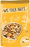 Farm Fresh Nuts Crunchy Dry Roasted Unsalted California Walnuts, 1 lb