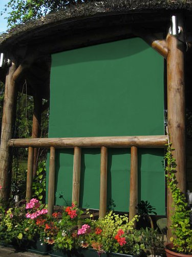 1.6m Rectangle Green Side Shade for Wooden Structure Primrose AWN172