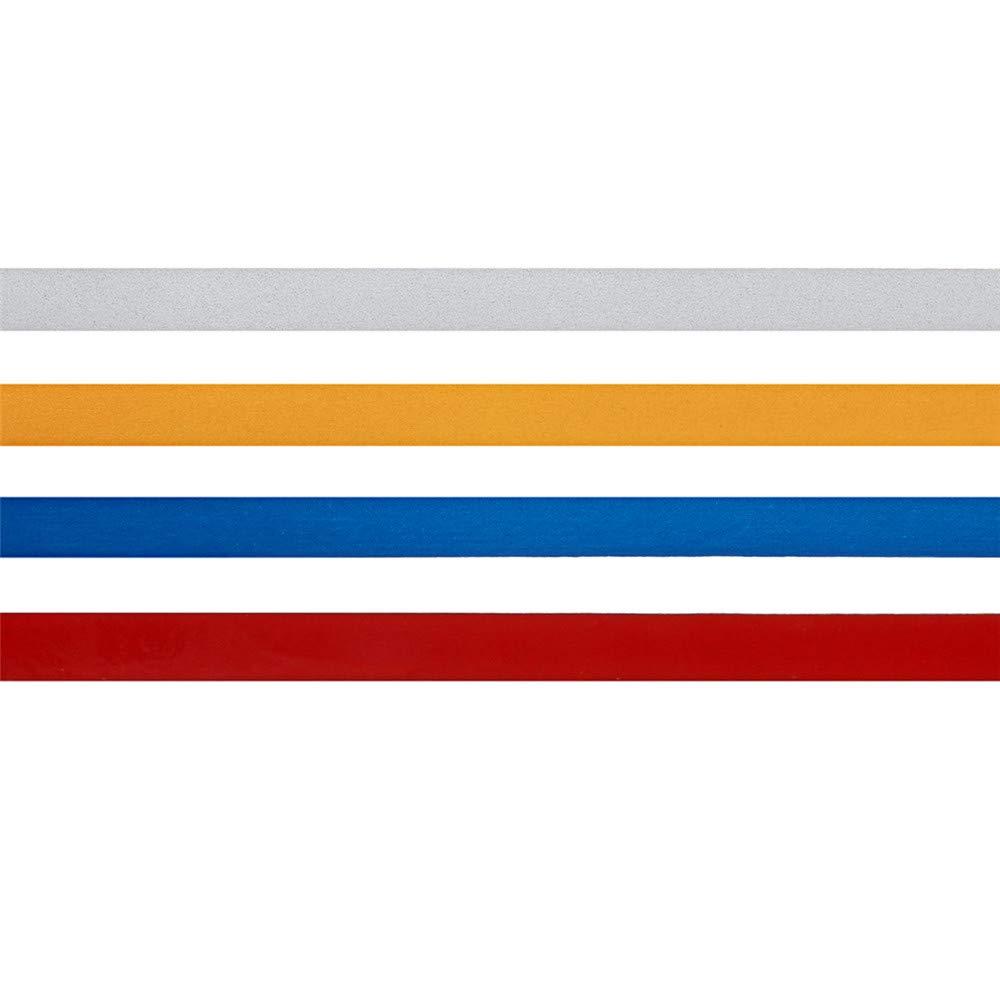 5M Lucido Casco del Motociclo Riflettente Nastro di Sicurezza Decorativo Fai da Te Adesivo Decalcomania Rotolo Striscia Blu Viviance 1Cm