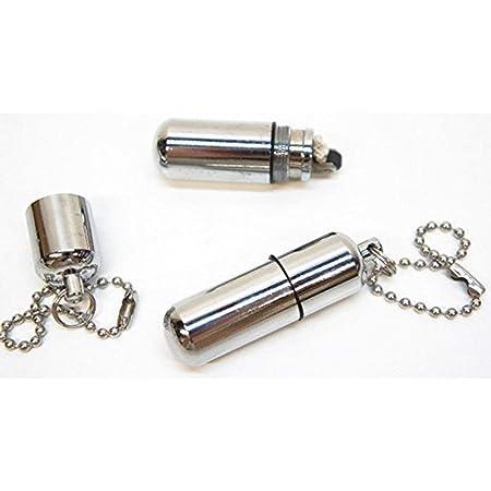 Uteruik Mini Encendedor de cápsulas Recargable, Encendedor de Aceite, Llavero Encendedor de Cigarrillos